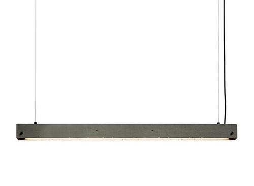 LED Concrete Linear Pendant Lamp
