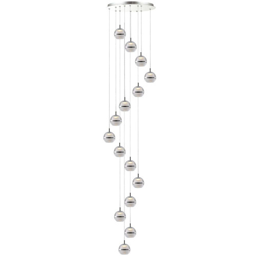 Pod LED 15 Light Cluster Pendant Light