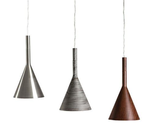 Funnel Cone Hat Pendant Light
