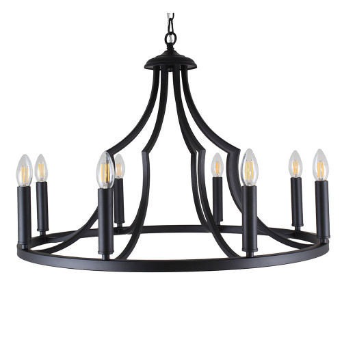 Throne 8 Light Pendant Light