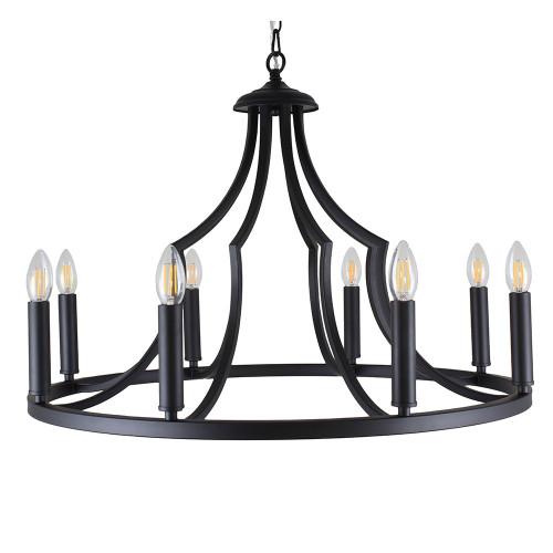 Throne 8 Light Pendant Light