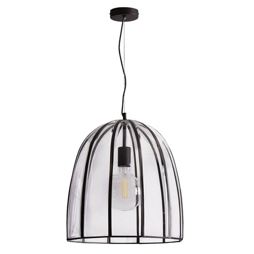 Fountain Bell Pendant Light - Black, Large