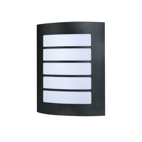 Stark Stainless Steel Wall Light - Black