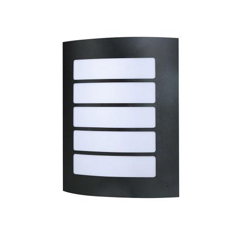 Stark Stainless Steel Wall Light - Black