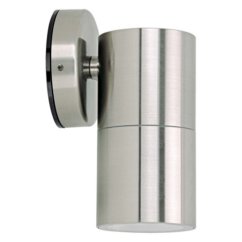 Jetson Single Fixed Outdoor Wall Light - 304ss