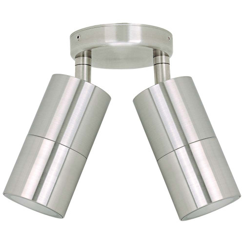 Jetson Double Adjustable Outdoor Wall Light - 304ss