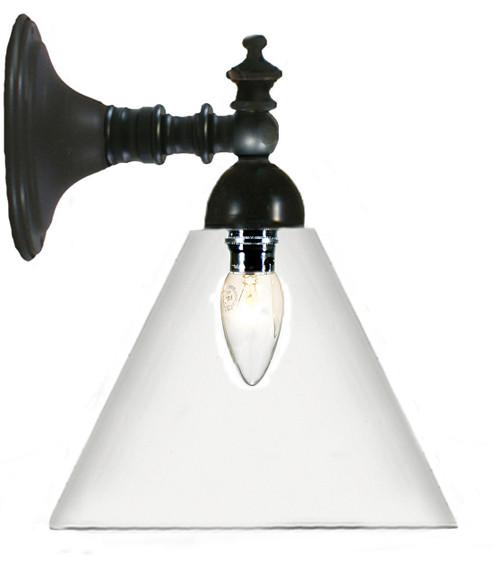 Gatsby Industrial Glassware Wall Light - Bronze