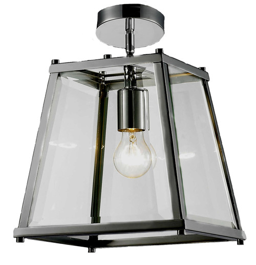 Citadel Close to Ceiling Glass Lantern Pendant