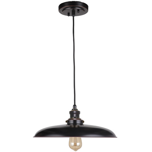 Raze 1 Light Bronze Pendant Light - Cord