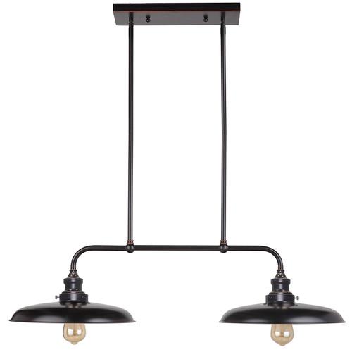 Raze Bench 2 Light Bronze Pendant Light