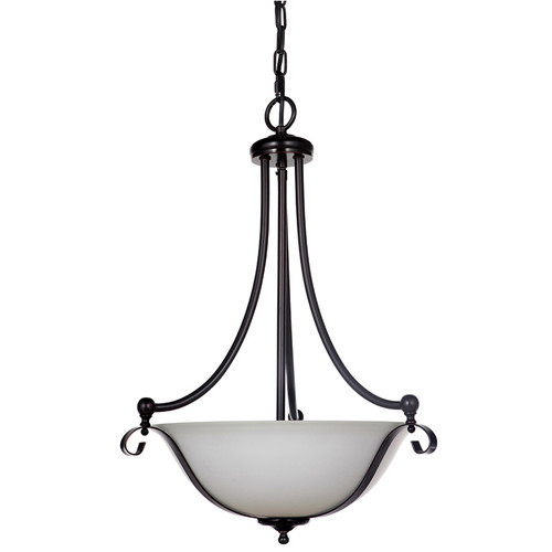 Dallas Single Suspension Bronze Pendant Light