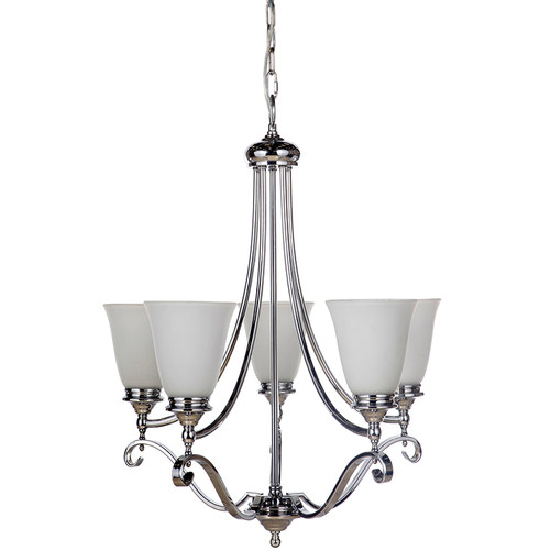 Dallas 5 Light Chrome Pendant Chandelier