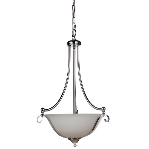 Dallas Single Suspension Chrome Pendant Light
