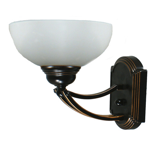 Houston 1 Light Bronze Wall Light