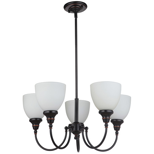 Benson 5 Light Bronze Pendant Chandelier