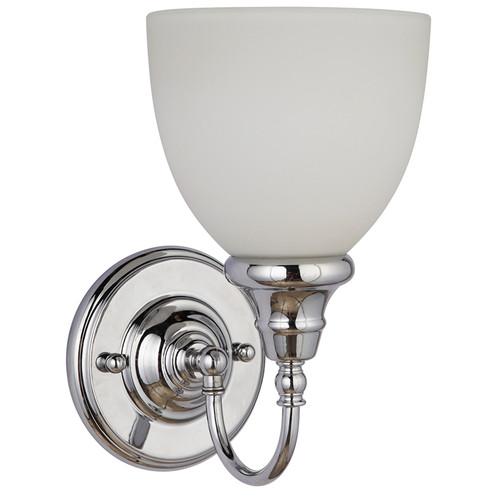 Benson 1 Light Chrome Wall Light