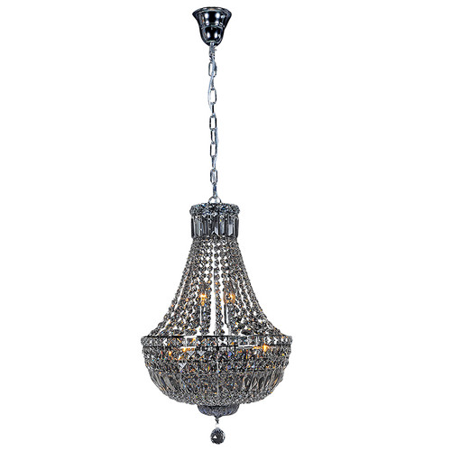 Classique Empire Basket Crystal Chandelier - Medium