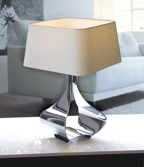 Liora Table Lamp in Natural Linen