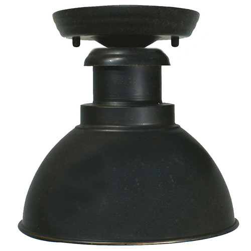 Bath Antique Bronze Exterior Close to Ceiling Lights