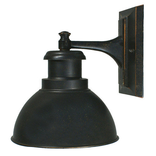 Bath Antique Bronze Exterior Wall Light