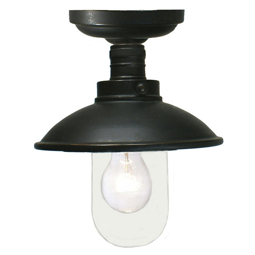 Port Antique Bronze Exterior Close to Ceiling Light