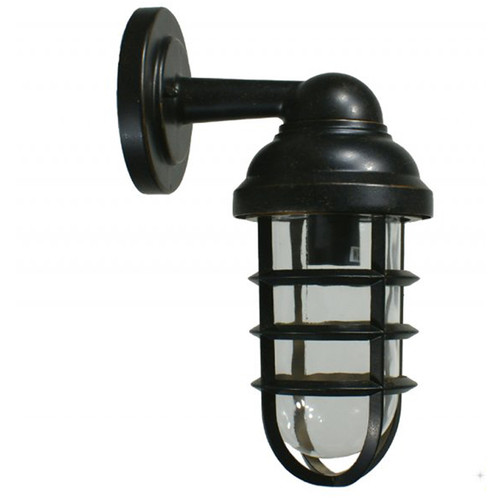 Dock Antique Bronze Exterior Wall Lights