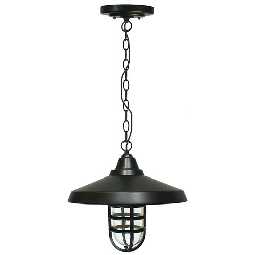 Deck Antique Bronze Interior Chain Pendant Light