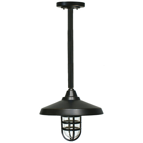 Deck Antique Bronze Exterior Rod Pendant Light