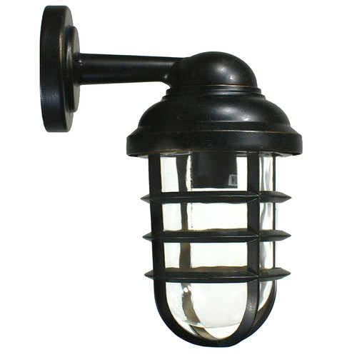 Wharf Antique Bronze Exterior Wall Light