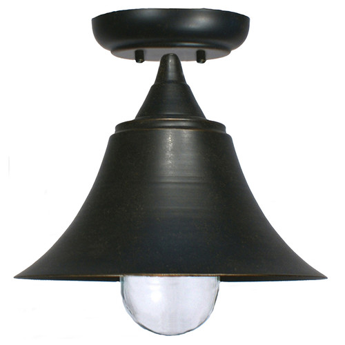 Sea Antique Bronze Exterior Close to Ceiling Light