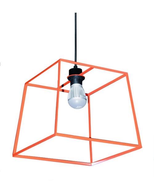 Loft Pop Pendant Light in Orange