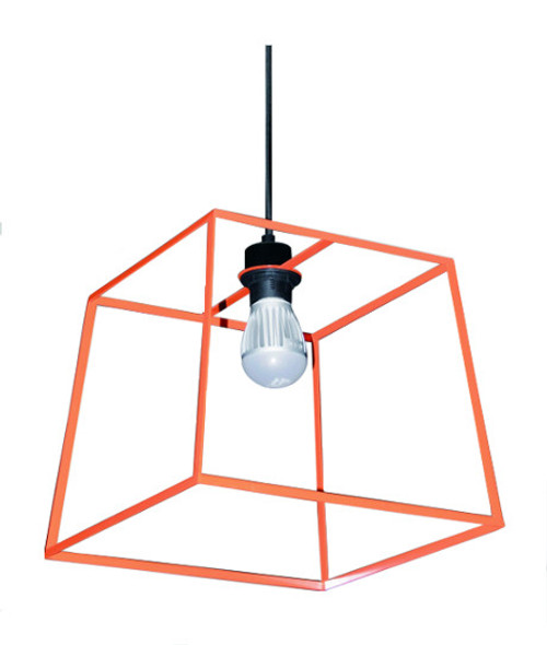 Loft Pop Pendant Light in Orange