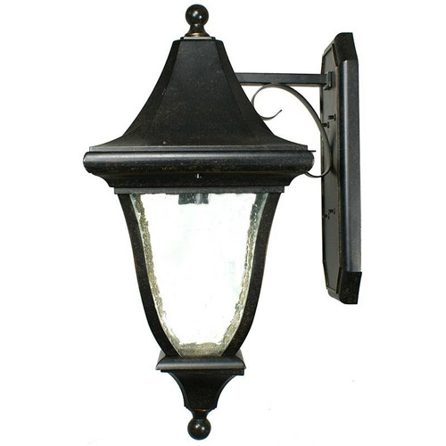Palladium Exterior Antique Bronze Coach Light