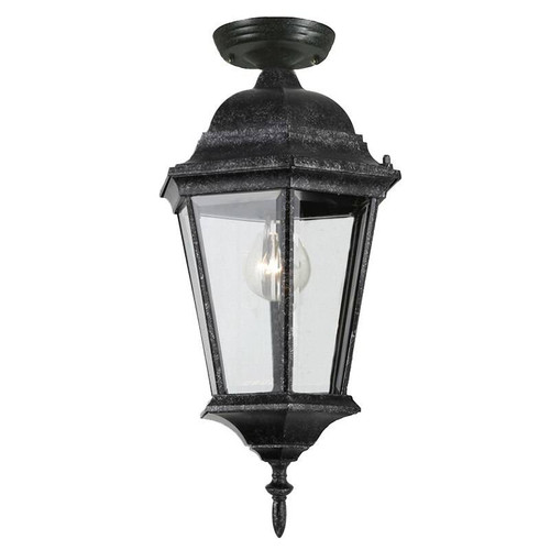 Junction Exterior Antique Black Under Eave Light
