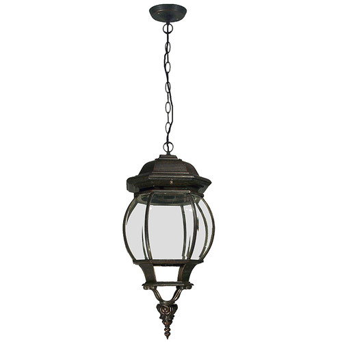 Flinders Interior Antique Bronze Chain Pendant Light