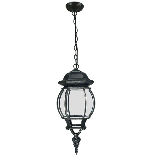 Flinders Interior Antique Black Chain Pendant Light
