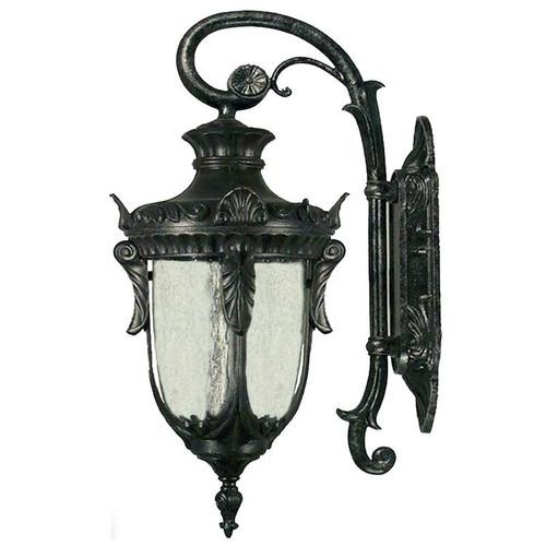 Wellington Exterior Antique Black Coach Light