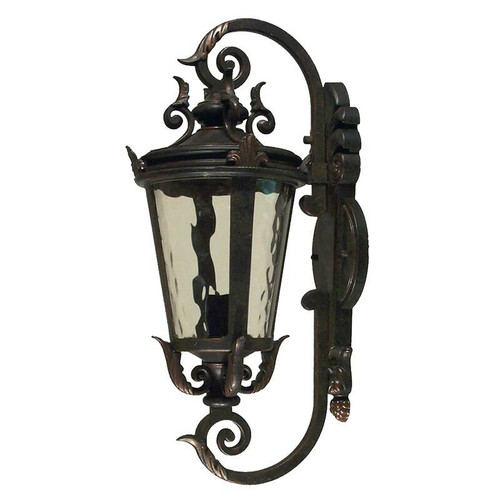 Albany Exterior Antique Bronze Coach Light