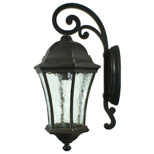 Strand Exterior Antique Bronze Coach Light