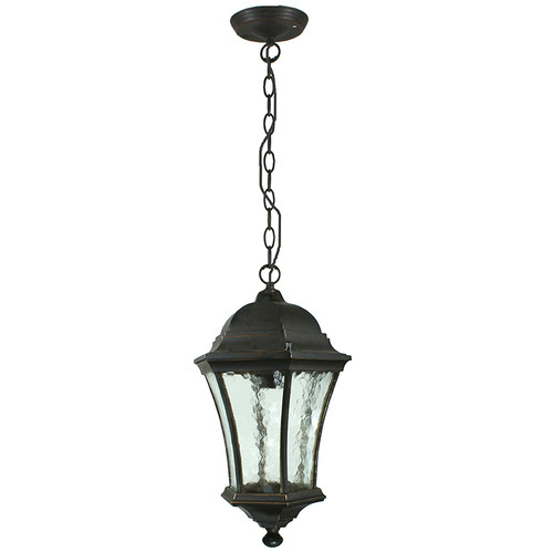 Strand Interior Antique Bronze Chain Pendant Light