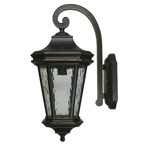 Tilburn Exterior Antique Bronze Coach Light