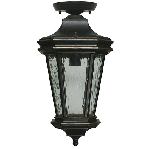 Tilburn Exterior Antique Bronze Under Eave Light