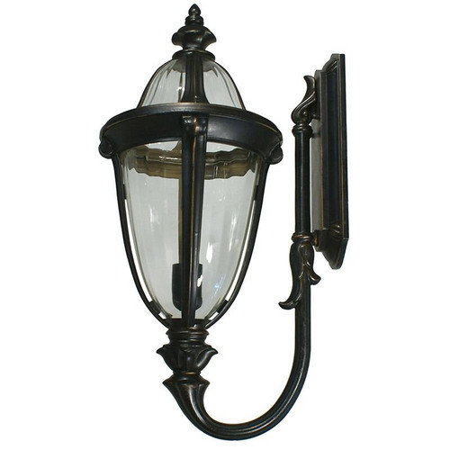 Mayfair Exterior Antique Bronze Coach Light