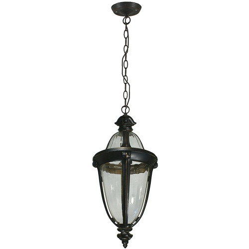 Mayfair Interior Antique Bronze Chain Pendant Light