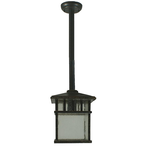 Parade Exterior Antique Bronze Rod Pendant Light