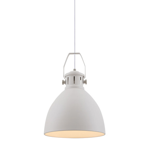 Maribo Bell White Pendant Light
