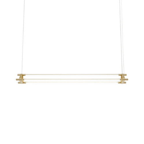 Denver 3 Bars Linear 3CT LED Pendant Light