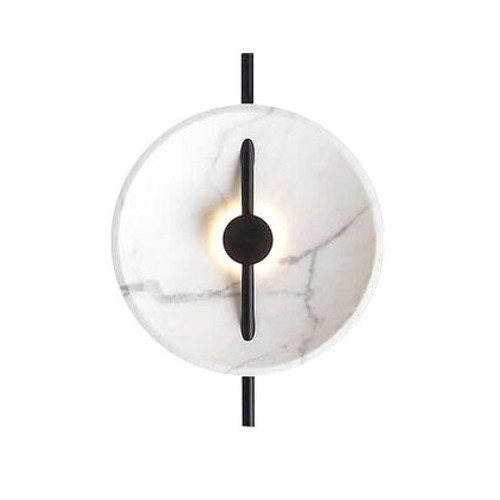 Boise Marble Round Indoor Wall Light
