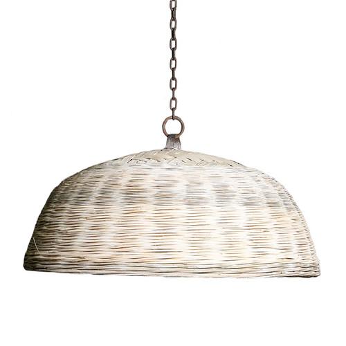 Havana Cane Dome Pendant Light