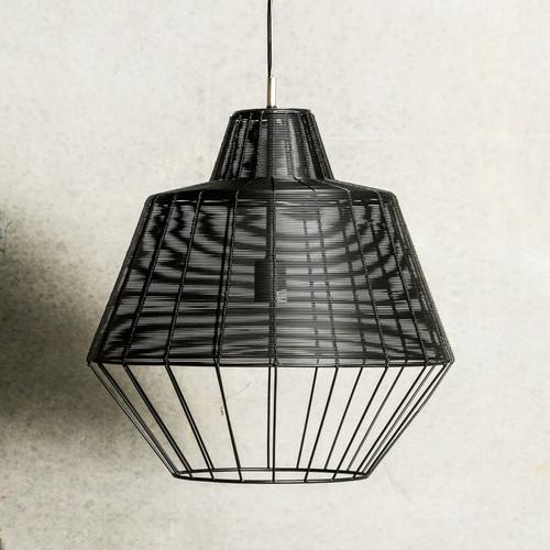 Del Rio Iron Black Industrial Pendant Light